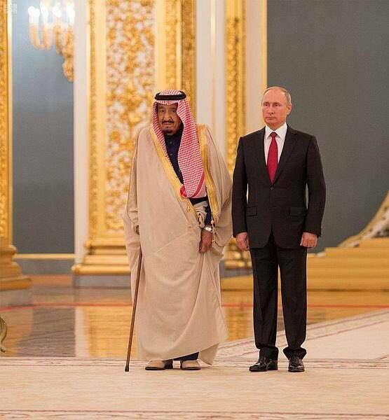 زيارة الملك سلمان إلى روسيا