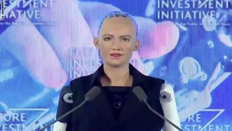 من هي صوفيا التعرف على sofia الروبوت الذي اخذ الجنسية السعودية في أول مره في العالم